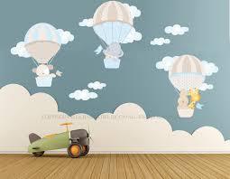 Missione spaziale spazio adesivi murali fluo bambini decorazioni
