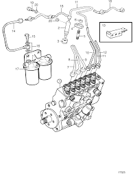 Fuel Injector and Delivery Pipes: A | Volvo Penta Fuel System ...