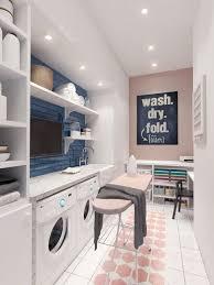 Scandinavian modern laundry room