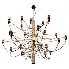 chandelier 2097 30 gino sarfatti 1958