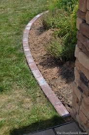 brick garden edging update