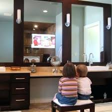 mirror with built in tv bathroom mirrors with built in by for mirror  remodel 8 mirror