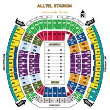 Nfl Football Stadiums Jacksonville Jaguars Stadium
