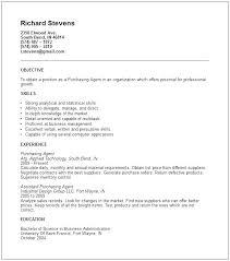 Purchase Resume Samples Purchasing Resume Sample Purchasing Agent Resume Examples Of Resumes