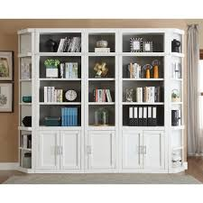 32 Inch Modern White Bookcase with Doors - Catalina | RC Willey Furniture  Store