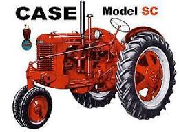 case dc tractor case sc tractor