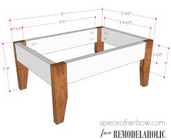 coffee table coffeeble size stunning picture ideas guide what for sofa foot correct sofacoffee