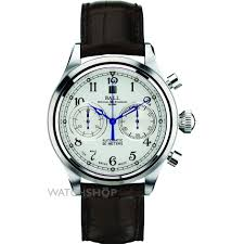 men s ball trainmaster cannonball automatic chronograph watch mens ball trainmaster cannonball automatic chronograph watch cm1052d l1j wh