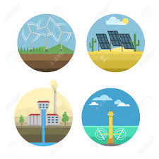 Different Types Of Power And Energy Sources Generation Including