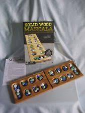 Mancala Wooden Board Game mancala board game eBay 55