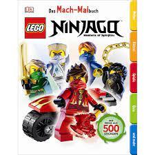 Das Mach-Malbuch - LEGO Ninjago - Spielwaren Krömer