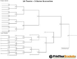 10 Team Single Elimination Bracket Single Elimination 10 Team League Schedule Template Game Bracket