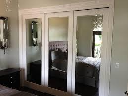 Mirror Closet Doors For Bedrooms Sliding Mirror Closet Doors For Bedrooms Closet Ideas