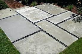 modern paver patio concrete patio slabs