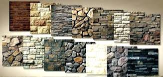 X Faux Stone Panels Exterior Home Depot Over Brick Fireplace