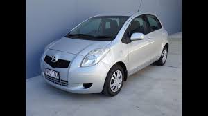 SOLD) Toyota Yaris 4 door manual for sale 2007 review - YouTube