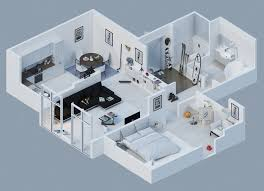 modern home floor plans 3d home deco plans