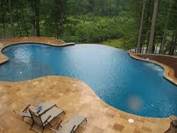 fibreglass infinity pools glass designs