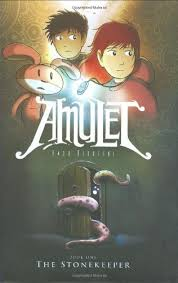 amulet book series the stonekeeper