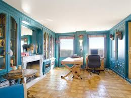 art deco penthouses and deco on pinterest blue office room design