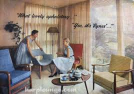 The Harp Lounge  S Australian Vogue Magazine Interiors - 1950s house interior