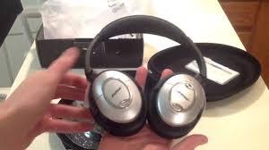 bose quietcomfort 15. review - bose quietcomfort 15 acoustic noise cancelling headphones qc15 youtube quietcomfort i