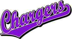 Team Pride: Chargers team script logo