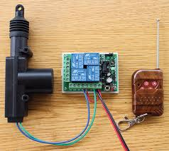 lock actuator and wireless remote