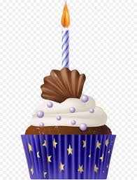 birthday cupcake candles blue. Exellent Candles Muffin Cupcake Food Icon  Birthday Blue With Candle PNG Clip Art On Candles G