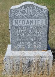 Henry Wesley McDaniel (1885-1919) - Find A Grave Memorial