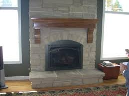 arched fireplace gets a facelift with custom arched insert