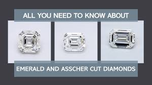 Carat Size Chart Emerald Cut Emerald Cut Diamond Shape Quality Color And Clarity