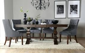 round dining table with upholstered chairs sensational black brown set ecda2016 com interiors 10