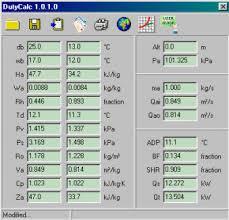 Psychrometric Duty Calculator