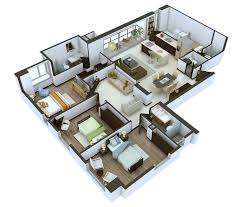 Small Picture Visualizing and Demonstrating 3D Floor Plans Home Design