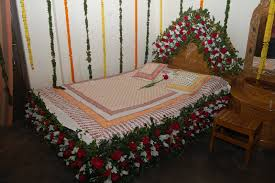 Bedroom So Sweet Romantic Ideas For Anniversary Plus Decoration Flowers  Pictures Beautiful Bed With Bedroom Decoration
