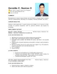 Computer Technician Sample Resume Best of Computer Technician Picture Gallery Website Sample Resume For