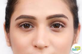 hide dark circles just a bit of concealer and foundation and you are good to go