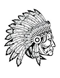 Native American Coloring Sheet Native Coloring Pages Free Native