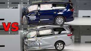 2017 Chrysler Pacifica Vs 2018 Honda Odyssey Toyota Sienna