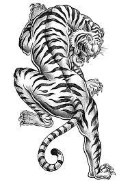 Small Picture Free Tiger Coloring Page to Print Adult Coloring Pages Craftfoxes