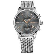 hugo boss watches boss watches uk ernest jones hugo boss jet men s stainless steel bracelet watch product number 5006996