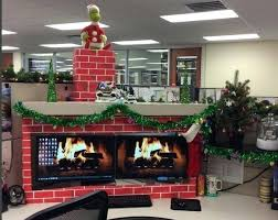 office holiday decorating ideas. Christmas Desk Decoration Ideas Decor Top Office Also Small Home . Holiday Decorating ,