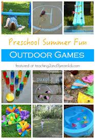 15 Fun Outdoor Games for Preschoolers