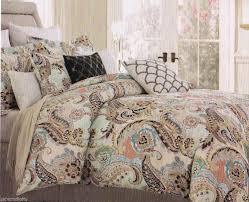 piece queen aruba turquoisetaupe comforter set home decor fantastic samara green pc king duvet 6 design