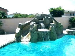 in ground pools with slides. Used Pool Slides For Sale Above Ground Slide Swimming Sliding Boards Small Rock Pools With In