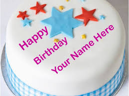 Happy Birthday Cards With Name Edit Happy Birthday Cake With Name