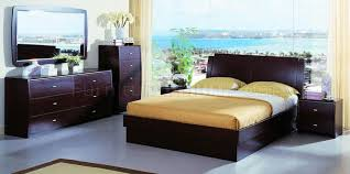 Contemporary Bedroom Set Palermo White