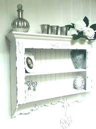 shabby chic wall shelf shelves cabinet best ideas about kitchen uk awesom