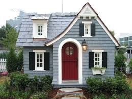 red door grey house. Gray House Red Door Tags Blue Brick Grey A
